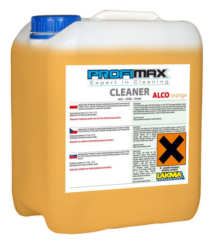 PROFIMAX UNIVERSAL CLEANER ALCO ORANGE 5l