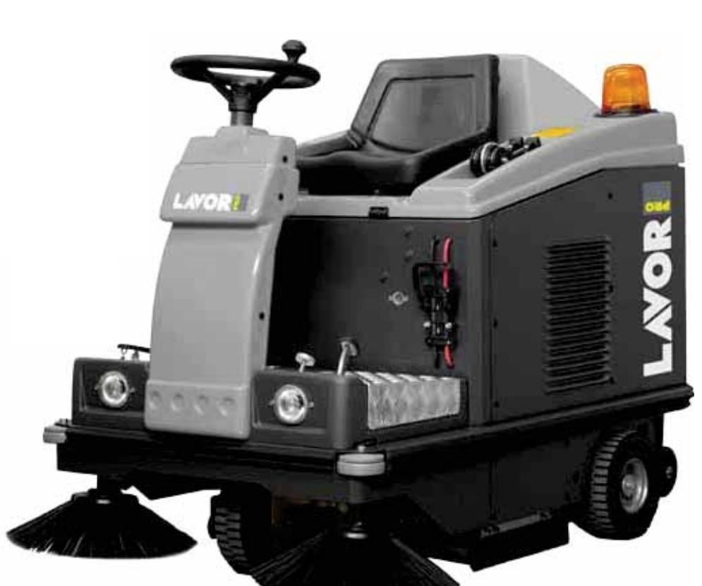 Zametací stroj LAVOR SWL-R 1000 ET