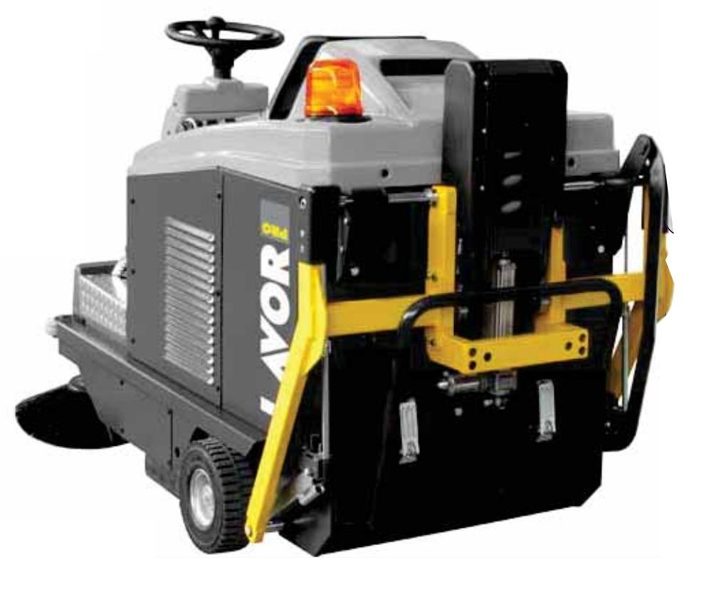 Zametací stroj LAVOR SWL-R 1000 ST BIN UP